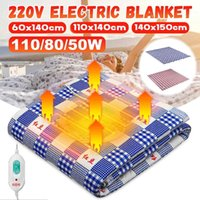 140x150cm Electric Blanket 220V Heater Double Body Warmer Ad...