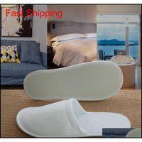 Viajar Hotel Spa Anti-Slip Descartável Chinelos Home Guest Shoes Multi-cores Respirável Soft DispositivoABl Jllhce Sport77777