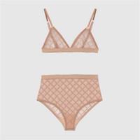 3 farben sexy jacquard bikini badebekleidung frauen laucher set mode brief stickerei dame bh setzt Geburtstagsgeschenk für weibliche trendige Unterwäsche