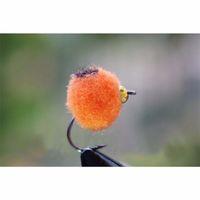 TigoFly 36 шт. / Лот оранжевый / белый / красный латунный Beasthead яйцо Glo Bug Salmon Folout Flies Flies Free Free Fly Box Y200829