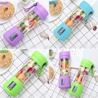 Portátiles taza de frutas verduras Exprimidor Licuadora Sin fugas de agua con conector USB extraíble tapa del filtro del pote multicolor 20 F2 2 dl