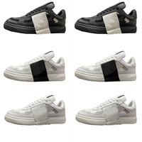 Pares Pares VL7N Plataforma Sapatos Homens para Mulheres Respirável Semana Catwalk Casual Sneakers Tamanho 35-45 Vintage