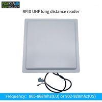 Fonkan 15M 장거리 UHF RFID 리더 RS232 내장 12dbi Crecle 안테나 무료 SDK 및 영어 데모 자동차 주차장