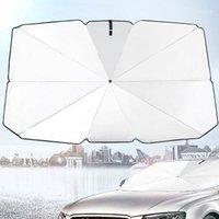 Pare-brille de voiture Fenêtre de pare-brise Visière Couverture de Visière Sélo-pare-soleil Anti UV Réflecteur PROTECTEUR PROTECTEUR DE SAUMÉAUX PLIENTABLES