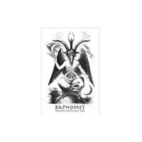 Eglise de Dieu Baphomet Drapeau 3x5ft Impression Polyester Club de l'équipe de Satan templiers Indoor Sports avec 2 Brass Œillets, Livraison gratuite