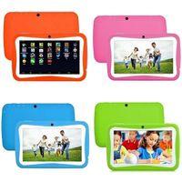 2021 Nouvelle arrivée 4GB 8GB jouets enfants enfants Android Tablette robuste robuste 7inch écran d'apprentissage android appareil photo avant