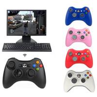 Microsoft Xbox Slim için Xbox 360 Gamepad Düğmeler Geliştirilmiş Ergonomik Tasarım Joystick Kablosuz Kumanda 360 PC, Windows 7 8 10