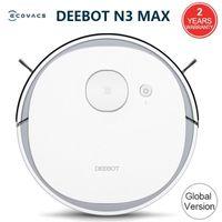 Version globale ECOVACS DEEEBOT N3 Max Laser Robot Soupuziste avec MOP Home Nettoyage Support Alexa Google App Control vocal