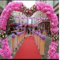 60cm 웨딩 슈팅 소품 키스 공인 인공 꽃 공 장식 쇼핑몰 열린 장식 무료 배송