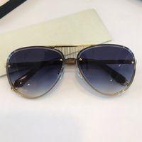 Maybach Nuevas gafas de sol de venta caliente para gafas de coche unisex Fashion Top Outdoor UV400 Gafas Oval sin marco óvalado sin marco exterior Caja libre