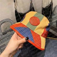 Yeni Erkek Tasarımcılar Kova Şapka Moda Kadınlar Ekose Bayan Kova Şapkalar Tasarımcı Beanie Bonnet Kap Casquette D20122301CE