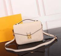 Klasik Orijinal yüksek kaliteli lüks tasarımcı çanta çanta Metis çanta mono Empreinte deri büyük el bayanlar zincir omuz çantaları Crossbody Çanta