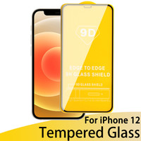 New 9D Full Cover Screen Protector case Tempered Glass for i...