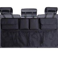 Organizador maletero del coche del asiento trasero ajustable Almacenamiento de bolsas de malla de alta capacidad multi-uso de asientos de automóviles Oxford Volver organizadores universal