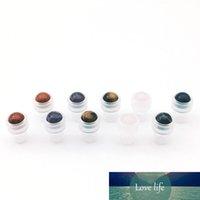 جميلة الأحجار الكريمة الطبيعية لفة الكرة صالح رقيقة الزجاج 1ML 2ML 3ML 5ML الأساسية الرول عطر زيت على زجاجة X 1000