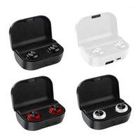 Наушники Наушники A6 TWS Bluetooth 5.0 Вин-Уэр Беспроводные Спортивные наушники Gaming Head-Phone для всех Smart Phone1