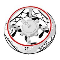 Nuova sospensione di induzione all'aperto del drone esterno dell'interno del nuovo quadcopter con la luce del flip del flip giocattoli per bambini per il regalo