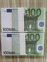 Kollektion 100 Die meisten Nachtclub-Prop-Kopie Spiel Geldpapier Film Geld Banknotengeschäftsgefälschige Euro Realistisch für Geld 43 FFDEG