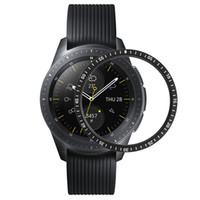 Anillo de bisel para Samsung Galaxy Watch 46mm / 42mm / engranaje S3 / S2 Pulsera inteligente Cubierta de protección de caja para Samsung Galaxy Watch 3