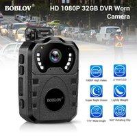 Mini Câmaras Boblov WN10 HD 1080P Corpo CAM Portátil Infravermelho IR Night Camera Loop Registro Segurança DVR Gravador de Vídeo Gravador Usado Câmera1