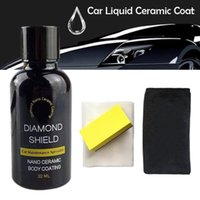 السيارات نانو طلاء السائل السيراميك رذاذ طلاء السيارات البولندية رذاذ مانع التسرب أعلى معطف سريع نانو طلاء 30ML سيارة Wax1