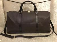 Duffle Bag Багажная сумка Duffel Путешествующая сумка Высокая емкость Большая емкость Багаж Водонепроницаемый Сумочка Повседневная Путешествия Сумки с замком ключей
