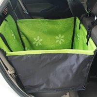 Köpekler için Pet Taşıyıcı Su Geçirmez Arka Geri Taşıma Köpek Araba Koltuğu Kapak Hamak Paspaslar Transportin Perro Coche Autostoel Hond Oto LJ201028