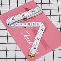 Herramientas de nociones de costura 1.5m Cinta métrica Cinta portátil Regla retráctil Niños Estudio de altura centímetro de pulgada Roll Girls regalos