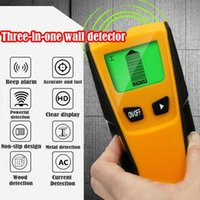 Wand-Detektor 3 in 1 Metalldetektor finden, Metall, Holz Studs AC Voltage Live Wire Wand Scanner Electric Box Finder 1Pcs Detect