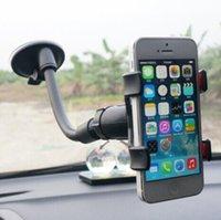 Bionanosky السيارة الأمامي العالمي جبل حامل القوس 360 درجة سيارة للهاتف المحمول GPS أداة سيارة عدم الانزلاق شركة شفط دعم كأس