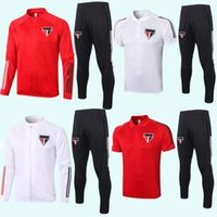 Súper buena calidad 2020 2021 Sao Paulo Fútbol Establece chándales 2021 Brasil Sao Paulo desgaste de entrenamiento puede vender por separado los pantalones de la chaqueta S-XXL