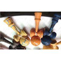 Hot Selling Japanese Traditional Wooden Toys Kendama Skills Ball Full Crack Jade Sword Ball 18.5cm Kendama Best Gift F jllYNt mx_home