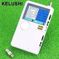 Faseroptikausrüstung Kelushi Remote RJ11 RJ45 USB BNC LAN Network Phone Cable Tester Meter 4 in 1 Continuity Testers1