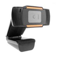 720P HD 웹캠 내장 마이크 와이드 스크린 비디오 작업 홈 액세서리 USB 카메라 노트북 데스크탑 컴퓨터 1