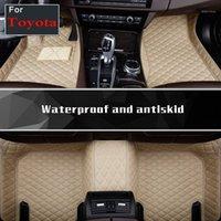 Özel Araba Paspaslar için Kara Cruiser Corolla Kara Cruiser Prius Araba Paspası Özelleştirilmiş Ayak Halı Styling Mat1