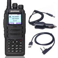 Baofeng DM-1701 Walkie Talkie Dual Band Dual Time Slot DMR الرقمية Tier1 2 3000 قنوات مع SMS وظيفة DM-1701TWO طريقة الراديو 1
