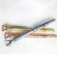 Máquina de tatuaje de microblading manual de la ceja para maquillaje permanente 3D ceja águbrado labio munsu tebori con cristal qyljck