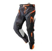 Pantalones de carreras de motocross de venta caliente Mountain Forest Road Downhill Pantalones deportivos montando montando Pantalones de rally anti-caída