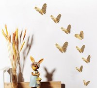 Hollow Butterfly Art Wall Pure Color Bedroom Living Room Home Decor Kids DIY Decoration Metal Painting WY304DXP