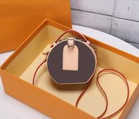 العلامة التجارية الكلاسيكية تصاميم المرأة حقائب يدوية حزمة دائرية المد ويب المشاهير الأزياء الصغيرة جولة حقيبة الخبز براءات الاختراع الجلود