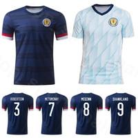 2020 2021 اسكتلندا لكرة القدم جيرسي 9 السدود 17 CHRISTIE 21 FRASER قميص 33 O'DONNELL McTOMINAY ماكجين مكجريجور كرة القدم أطقم الرئيسية الأزرق الداكن