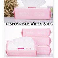 2020 neue 80 Blätter Einweg-Waschlappen Einweg-Gesicht Weiche Handtuch Baumwolle Gesichtsreinigung Make-up-Entferner Tuch Gewebe Z03311