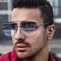 2021 Новый стиль солнцезащитные очки без RIMLENT для мужчин роскошные старинные солнцезащитные очки женщин модный прилив люкс одолжительность де Соль гомбр Trending Gafas