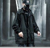 Femmes / Vêtements pour hommes Capuche Streetwear Jacket Manteaux minces Coating Harajuku Hip hop Vestes occasionnels Vintage Cargo Tops PIZEX