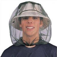 Anti Cosmito Bug Mosquito Net Protector Hat Face Mesh Head Насекомое для путешествий Кемпинг Рыбалка против комаров Net1