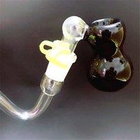 Accesorios para fumar 14mm Ash Catch Catcher Hembra Masculina con Pyrex gruesa Clear J-Hook Adaptador Bubbler Bubbler Ashcatcher Bowls para bongs