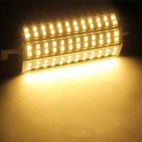 R7S 15W 72 LED 5050 SMD Lampadina a risparmio energetico Lampadina 189mm Warm White 100-240V Sostituire il proiettore alogeno