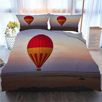 Bedding 3 Piece Duvet Cover Sets Kenya East Africa A Hot Air...