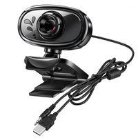 Веб-камеры веб-камеры HD 720P Cam Desktop PC Видео вызова веб-камеры с микрофоном Mic Camara Para PC1