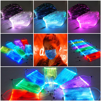 LED Luminous Mask With PM2. 5 Filter Colorful Free Change Saf...